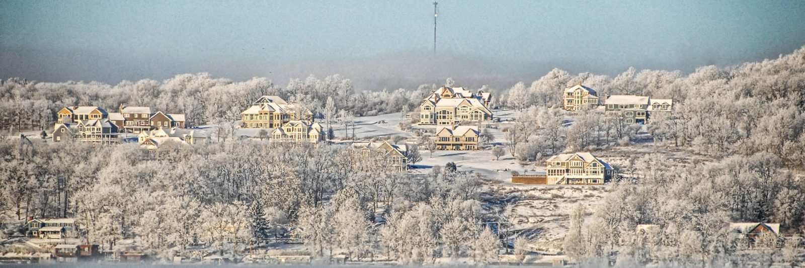 Canandaigua Lake in winter
